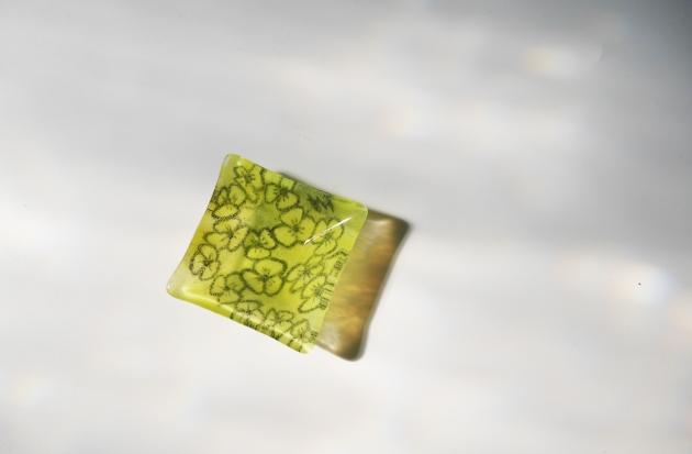 釉筆琉璃作畫 (10x10cm) 2