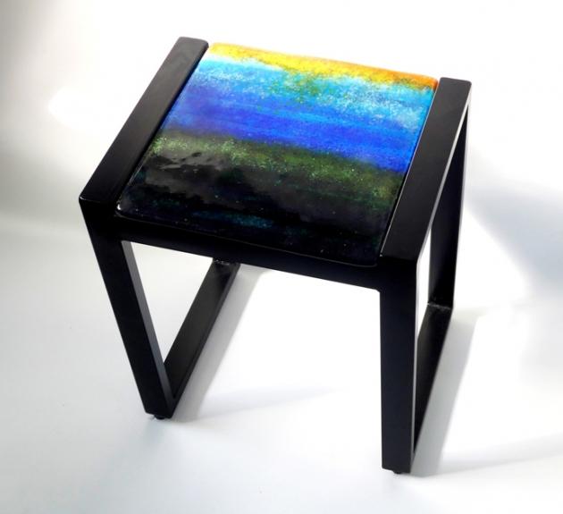 小邊桌_ 琉璃桌板 1