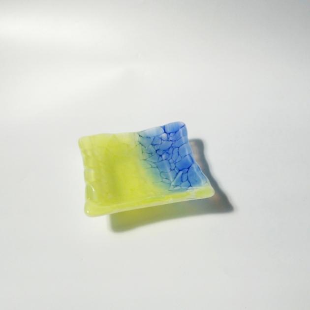 冰晶系列 H_琉璃小方盤 1