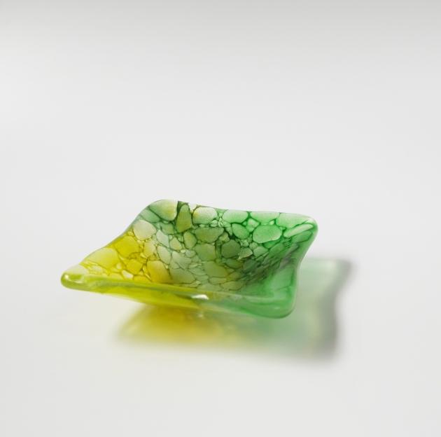 冰晶系列 F_琉璃小方盤 1