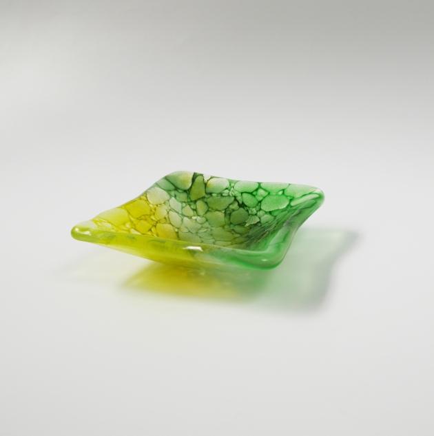 冰晶系列 F_琉璃小方盤 2