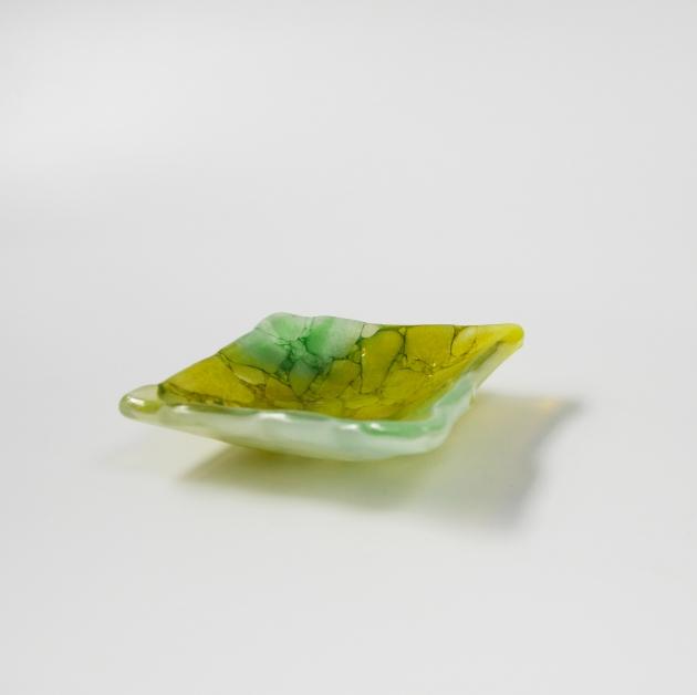 冰晶系列 A_琉璃小方盤 1