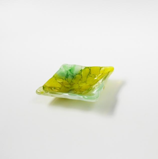 冰晶系列 A_琉璃小方盤 2